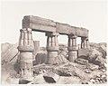 Karnak (Thèbes), Palais - Partie Posterieure - Fragment de Colonnades Vu du Point S MET DP138585.jpg