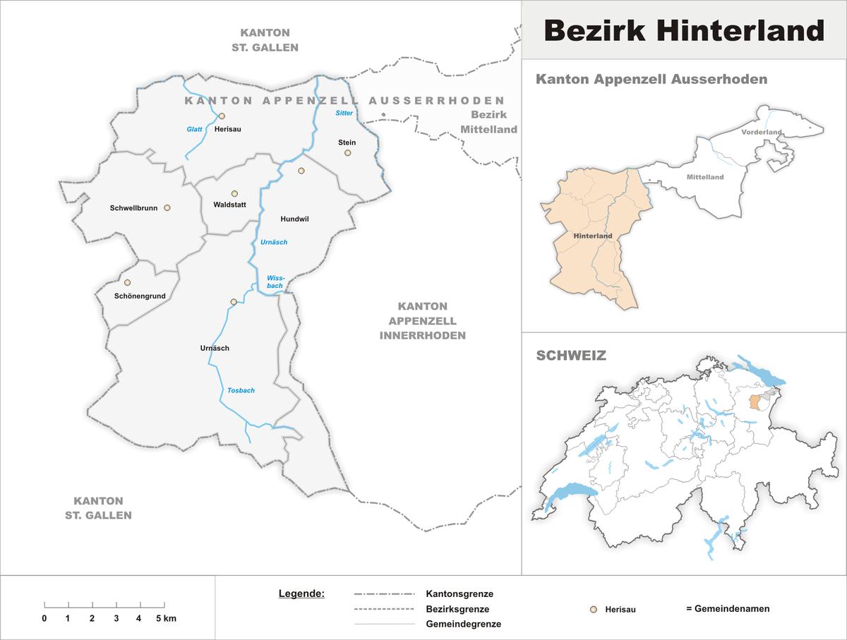 Bezirk Hinterland Wikipedia