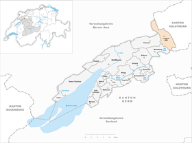 Karte von Lengnau