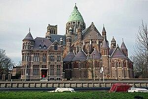 Kathedraal St. Bavo, Leidsevaart, Haarlem