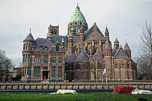 Cathedral Basilica St. Bavo, Haarlem, Netherla...