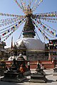 Kathmandu, Nepal, Kaathe Swayambhu Stupa.jpg