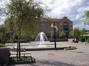 Katrineholm - Image: Katrineholm Zentralplatz