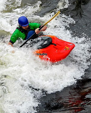 Outline of canoeing and kayaking - Playboating