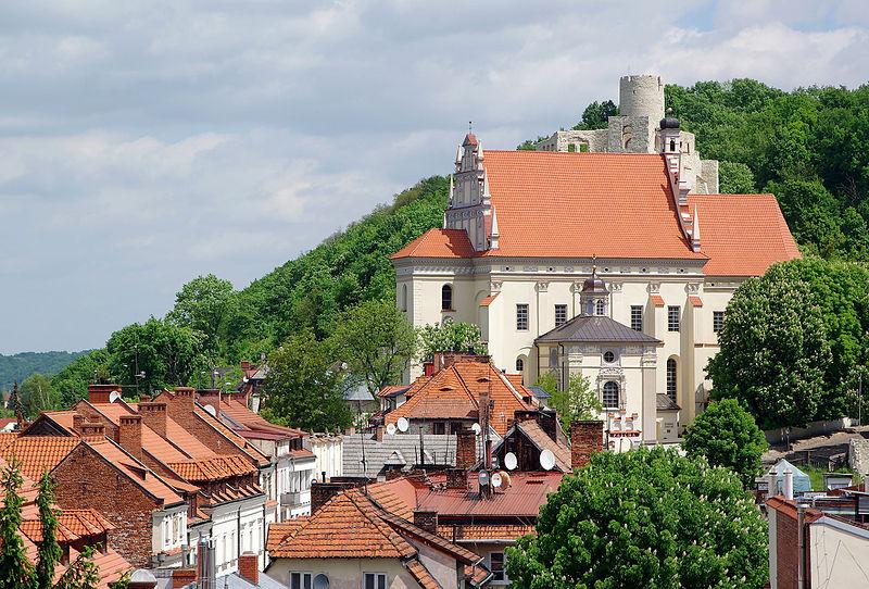 Kazimierz Dolny - View of the town