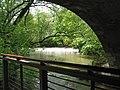 Kegelbrücke - Ilm-Wehr an der ehem. Burgmühle.jpg