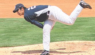 Kei Igawa - Igawa with the New York Yankees