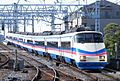 Keisei skyliner AE100 takasago.jpg
