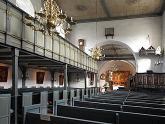 Aniconism in Christianity - St Severin, Keitum, a German Lutheran church that retains its pre-Reformation carved altarpiece as well as other smaller post-Reformation paintings.