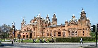 Argyle Street, Glasgow - Kelvingrove Art Gallery as seen from Argyle Street in the West End of Glasgow.