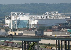 Kemper Arena from Quality Hill