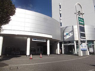 Pref. Sports Park Station Railway station in Shizuoka, Japan