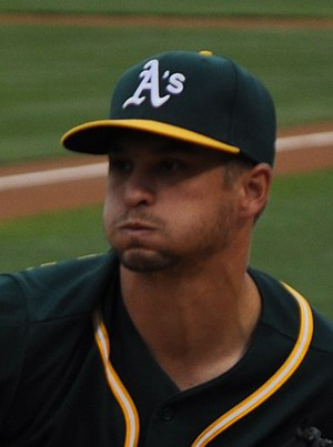 Kendall Graveman - Graveman with the Athletics in 2015