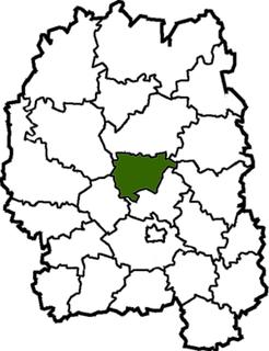 Khoroshiv Raion Former subdivision of Zhytomyr Oblast, Ukraine