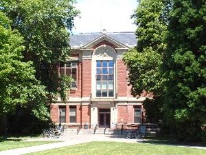 The Valley Library - Kidder Hall, the former home of the library