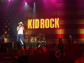 Kid Rock - Kid Rock in concert on September 16, 2006, in Denver, Colorado