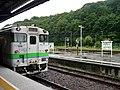 Kiha40 708 at Abashiri Station.jpg