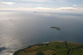 Kildonan, Pladda & Ailsa Craig from the air.jpg