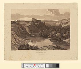 Kilgarren castle, Cardiganshire