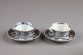 Kinesiska porslins koppar - Hallwylska museet - 95720.tif
