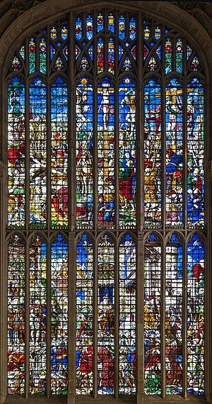King's College Chapel, Cambridge - The Great East Window