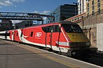 Kings Cross - LNER 82202 rear of ecs.JPG