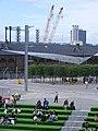 Kings Cross redevelopment - Granary square August 2013.jpg