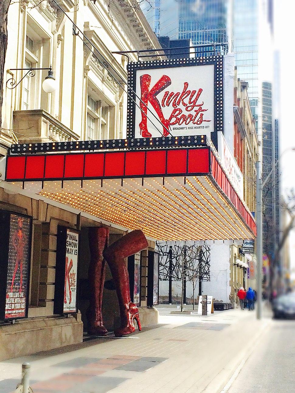 Kinky Boots - Toronto 2016