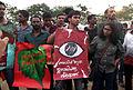 Kiss of love protest 2014 in Kerala at Ernakulam.JPG