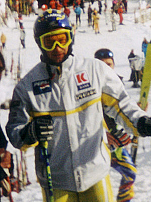 Kjetil André Aamodt - Aamodt at Kitzbühel in January 2000