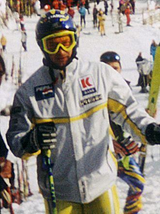 Kjetil André Aamodt - Aamodt at Kitzbühel in January 2000