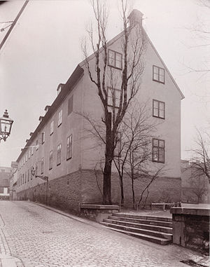 August Strindberg - The school in Klara, Stockholm, whose harsh discipline haunted Strindberg in his adult life