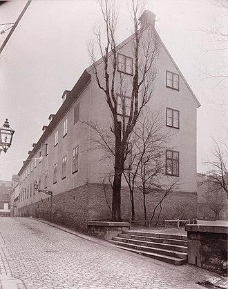 August Strindberg - The school in Klara, Stockholm, whose harsh discipline haunted Strindberg in his adult life