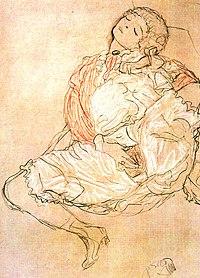 Klimt Mulher sentada.jpg