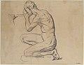 Kneeling Nude Male Figure, Facing Left MET 1983.306.jpg