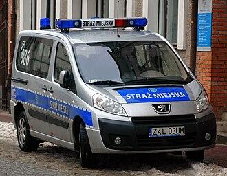Municipal police - Straż miejska in Kołobrzeg (Poland)