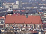 KościółBożegoCiała-WidokZKopcaKraka-POL, Kraków.jpg