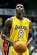 English: Kobe Bryant, Lakers shooting guard, s...