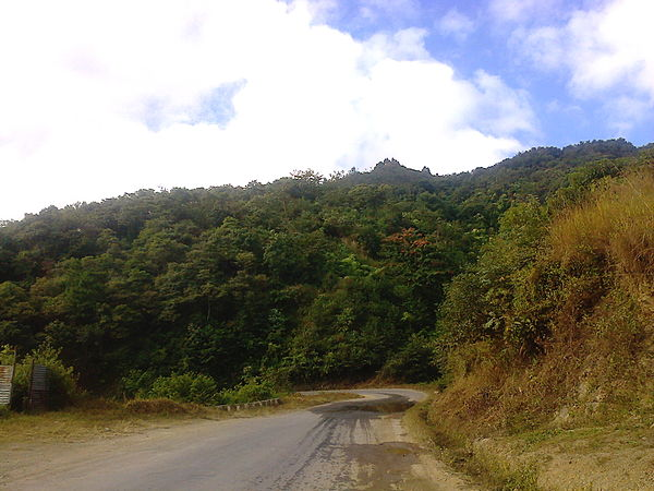 Historic Kohima Imphal road in 2013 Kohima Imphal Road Now.jpeg