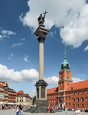 Sigismund's Column - Image: Kolumna Zygmunta III Wazy,Warszawa