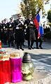 Komemoracija ob spomeniku padlim v vojni za Slovenijo 1991 na ljubljanskih Žalah 2014 06.jpg