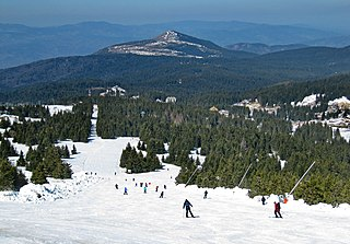 Kopaonik ski resort Ski resort near Brus, Serbia