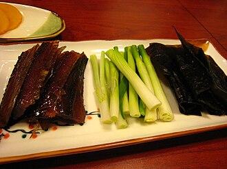 Gwamegi - Image: Korean cuisine Gwamegi 02