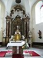 Kostel Všech svatých (Rožnov pod Radhoštěm), oltář.JPG