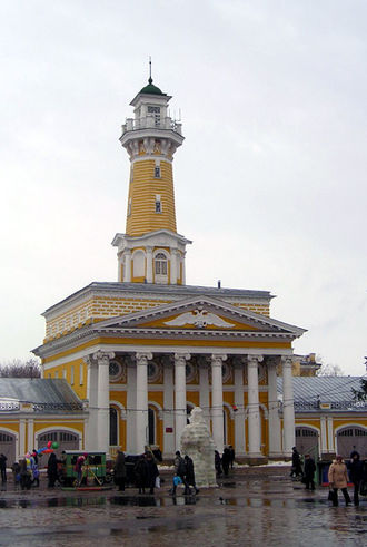 Fire station - Fire station in Kostroma, Russia (1823-26)
