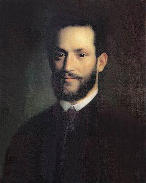 Ármin Vámbéry - Portrait of Arminius Vámbéry, by Mihály Kovács, 1861.
