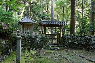 Myōe - Myōe's grave in Kōzan-ji