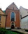 Kraków, kościół św. Franciszka z Asyżu, wejście od strony Plant.jpg