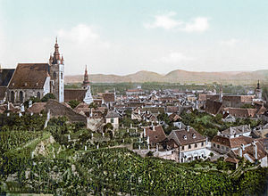 Krems an der Donau - View of Krems in 1900