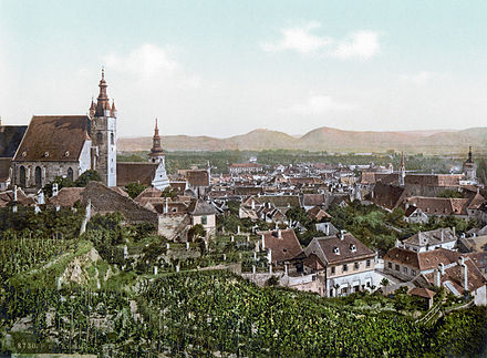 View of Krems in 1900 Krems an der Donau 1900.jpg